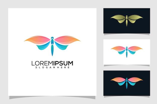 Abstracte libel logo