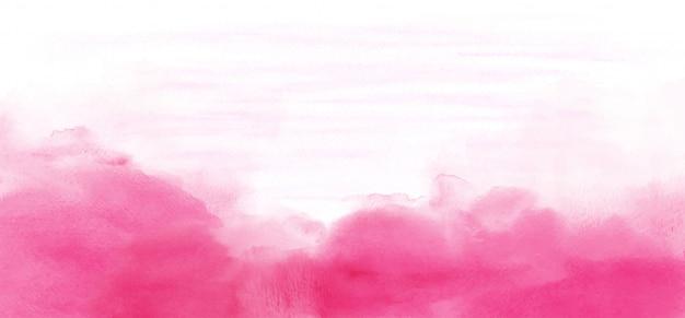 Abstracte licht roze aquarel textuur voor achtergrond