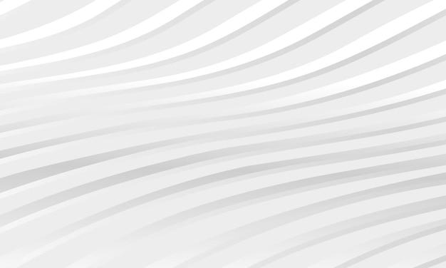Abstracte licht zilver patroon golvende diagonale witte achtergrond