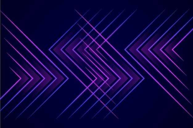 Abstracte lichtblauwe pijl richting technologie ontwerp moderne futuristische achtergrond premium vector