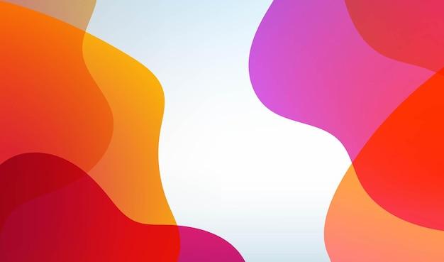 Abstracte lichte achtergrond met blobs