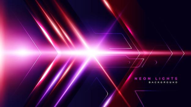 Abstracte lichte gaming achtergrond