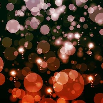 Abstracte lichtenachtergrond