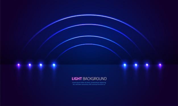 Abstracte lichtshow achtergrond