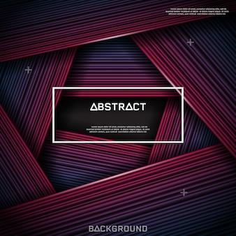 Abstracte lijn en textuurachtergrond.