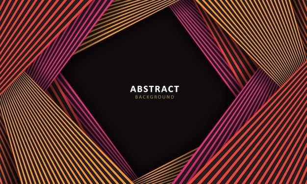 Abstracte lijn kleurrijke achtergrond