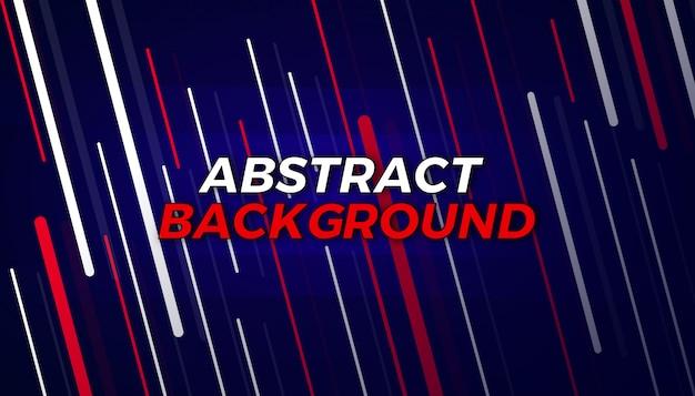 Abstracte lijnen stroom achtergrondontwerp