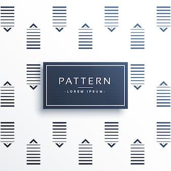 Abstracte lijnen vector patroon achtergrond