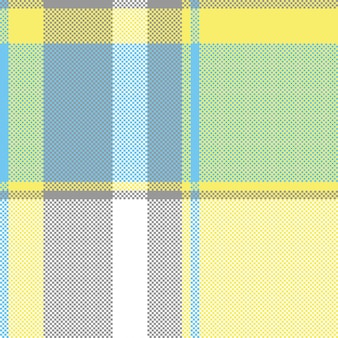 Abstracte lite kleur controleren pixel plaid naadloze patroon
