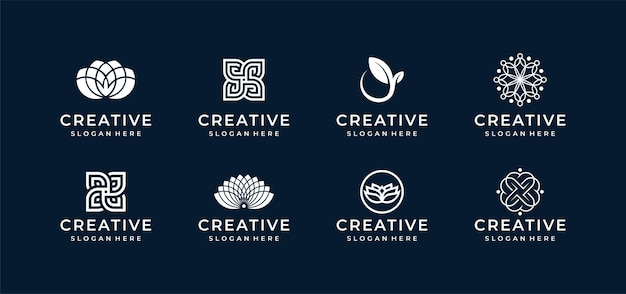 Abstracte logo illustratie