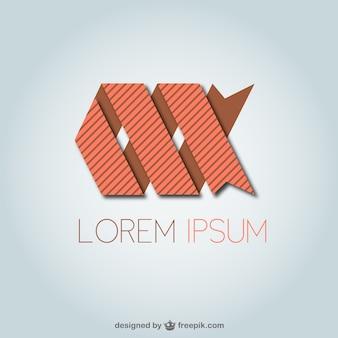 Abstracte logo template gratis