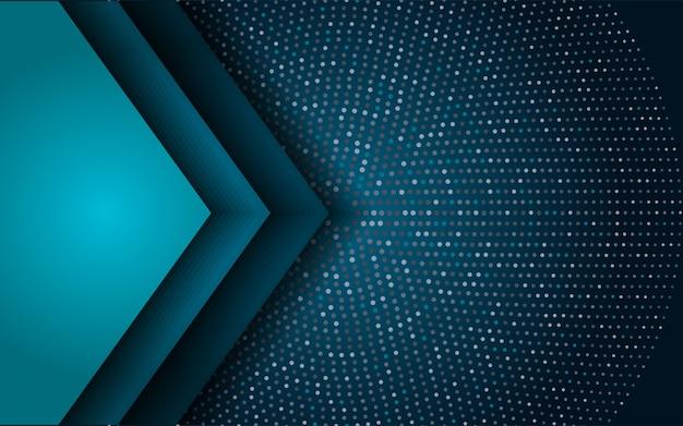 Abstracte luxe blauwe achtergrond met glitter