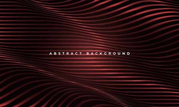 Abstracte luxe gloeiende rode vloeistof golvende vormen geometrische elegantie achtergrond