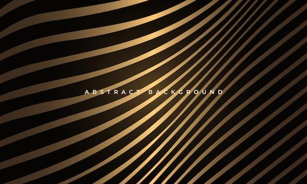 Abstracte luxe gloeiende vloeiende golvende vormen geometrische elegantie achtergrond