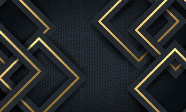 Abstracte luxe mesh achtergrond met zeshoekige textuur