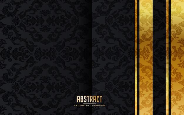 Abstracte luxe zwarte achtergrond