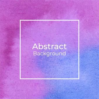 Abstracte magenta en blauwe aquarel achtergrond