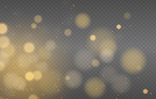 Abstracte magische bokeh lichten effect achtergrond