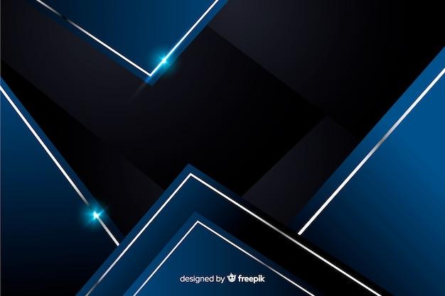 Abstracte metaal blauwe decoratieve achtergrond