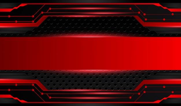 Abstracte metaal rode zwarte achtergrond