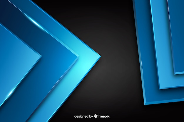 Abstracte metaalblauwe textuurachtergrond