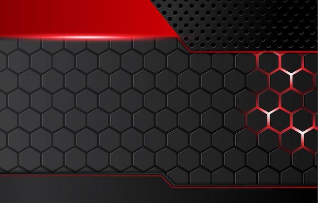 Abstracte metaalrode zwarte achtergrond met contraststrepen. abstract grafisch brochureontwerp