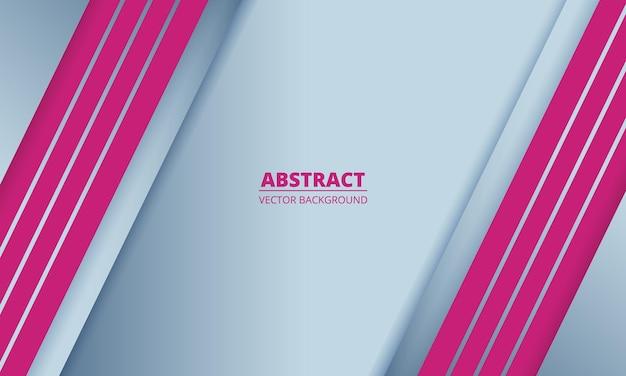 Abstracte metalen achtergrond met roze lijnen en schaduwen