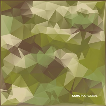 Abstracte militaire camouflage achtergrond gemaakt van geometrische driehoeken vormen. illustratie.