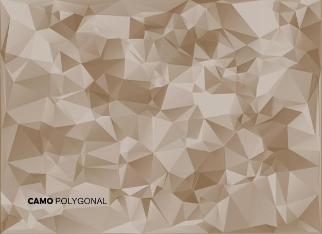 Abstracte militaire camouflage achtergrond gemaakt van geometrische driehoeken vormen. veelhoekige stijl.