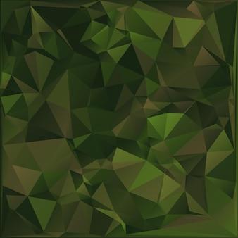 Abstracte militaire camouflage achtergrond. veelhoekige stijl.