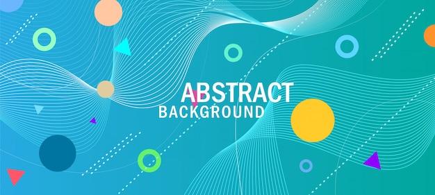 Abstracte minimale geometrische achtergrond