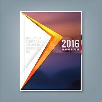 Abstracte minimale geometrische driehoek vormen ontwerp achtergrond voor het bedrijfsleven jaarverslag boekomslag brochure flyer poster