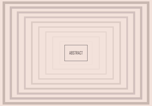 Abstracte minimale gradiënt rechthoeken banner achtergrond. vector illustratie.
