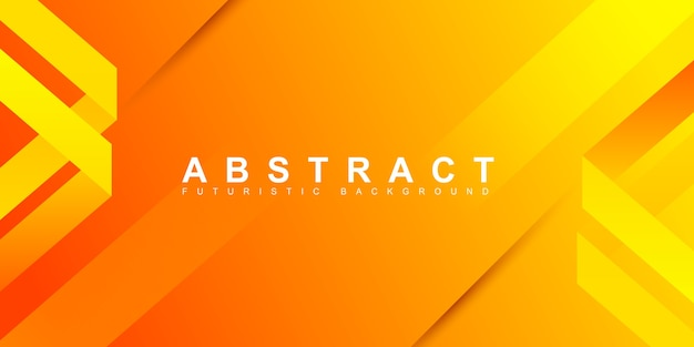 Abstracte minimale oranje achtergrond