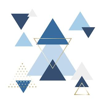 Abstracte minimalistische scandinavische achtergrond