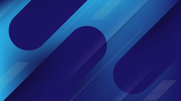 Abstracte moderne achtergrond met memphis-element en vervagingseffect voor technologie en futuristisch thema