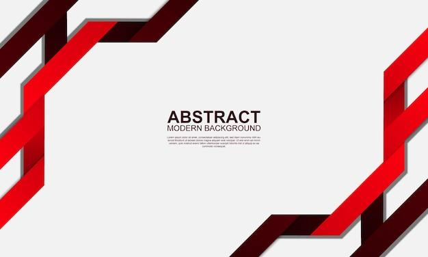 Abstracte moderne achtergrond met rode strepen vectorillustratie