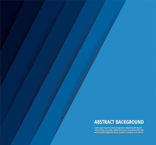 Abstracte moderne blauwe lijnenachtergrond