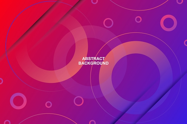 Abstracte moderne cirkel vorm gradiënt kleur achtergrond