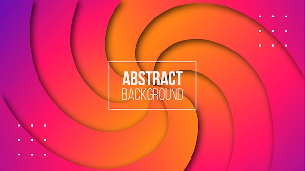 Abstracte moderne cirkelvormige achtergrond met kleurovergang