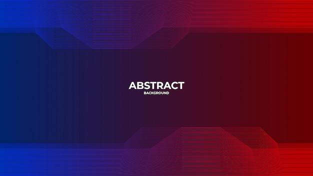 Abstracte moderne digitale technologie premium achtergrond met lijnstijl
