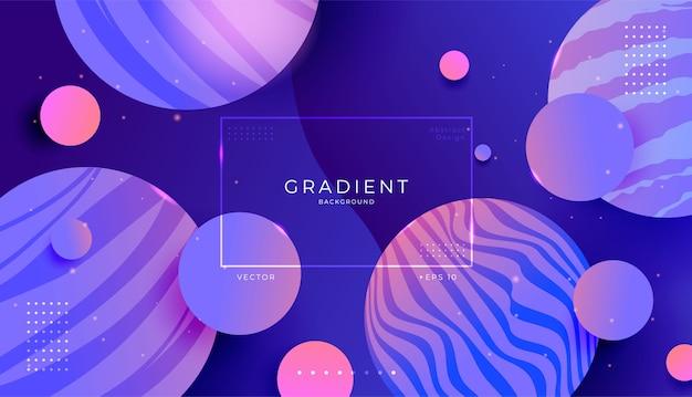 Abstracte moderne dynamische 3d ruimtekantorachtergrond.