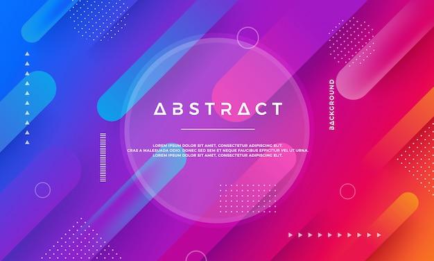 Abstracte moderne dynamische vectorachtergrond.