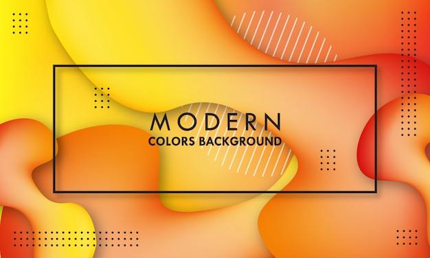 Abstracte moderne dynamische vloeiende achtergrond.