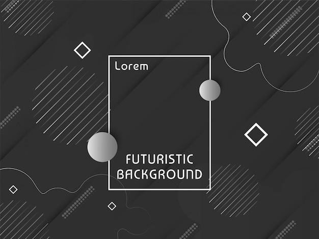 Abstracte moderne futuristische elegante achtergrond