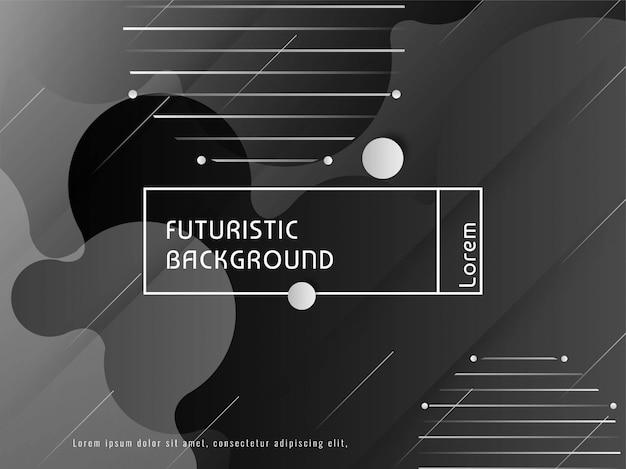 Abstracte moderne futuristische vectorachtergrond