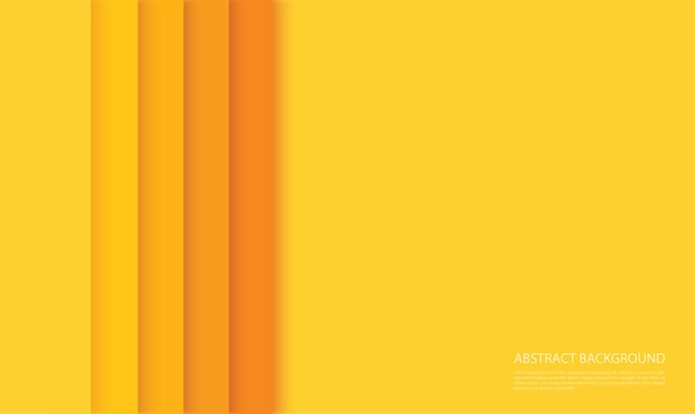 Abstracte moderne gele lijnen achtergrond