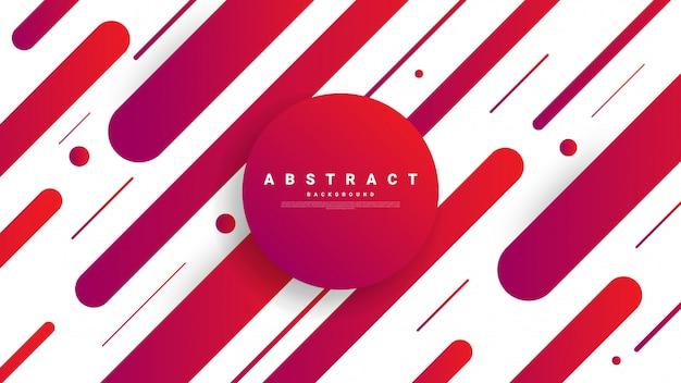 Abstracte moderne grafische achtergrond. dynamisch gekleurde vormen en golven
