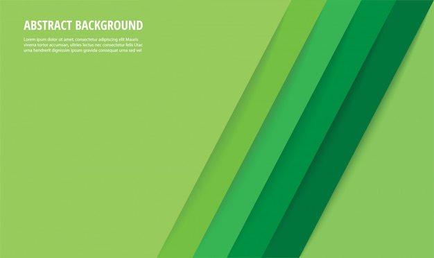 Abstracte moderne groene lijnenachtergrond