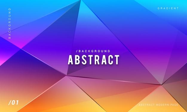 Abstracte moderne kleurrijke achtergrond